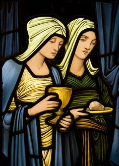 Pre-Raphaelite Stained glass | Flickr - Photo Sharing!