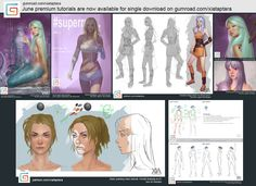 New digital painting video tutorial for June 2016 on Gumroad