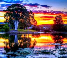 Sunset Lake Awesome Colorful Dark Plants Forces Nature Sunrise Colors Sunshine Sky Stunning Mountains Sunrays Golden Trees Fishes Lovely Shadows Reflection River Spring Clouds Amazing HD Background