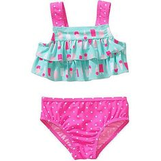 Child of Mine by Carter's Baby Toddler Girl 2-Piece Swimsuit