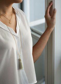 DIY: tassel necklace via neato! bonito