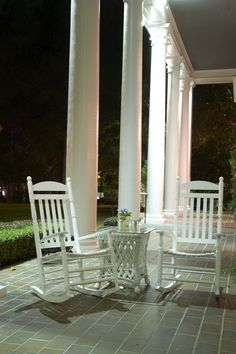 Everyone must know how to enjoy a rocking chair on the front porch in the evening, swatting the bugs away, chatting with the family and neighbors, and most of all just relaxing.