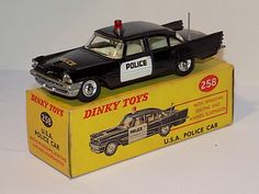 Image result for dinky toys Custom Hot Wheels, Hot Wheels Cars, Metal Toys, Tin Toys, Vintage Toys For Sale, Corgi Toys, Matchbox Cars, Emergency Vehicles, Diecast Model Cars