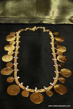 Lakshmi kasu mala – RedStone Jewelry