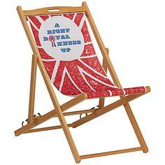 Buy Hemingway Design FSC Deckchair, Diamond Jubilee online at JohnLewis.com - John Lewis