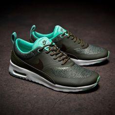 Nike WMNS Air Max Thea PRM (grün) - 43einhalb Sneaker Store Fulda