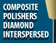 Nais Composite Polishers Diamond Interspersed
