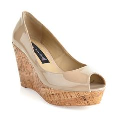 """""""Favvorr"""" Leather Wedge"""
