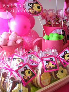 Masha e Orso Second Birthday Ideas, 2nd Birthday Parties, Masha Et Mishka, Teddy Bear Party, Masha And The Bear, Bear Birthday, Baby Shower, Baby Party, Holidays And Events