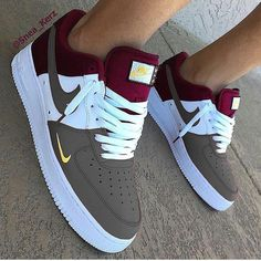 Shopping For Men's Sneakers. Would you like more information on sneakers? Then click right here for much more information. Mens Sneakers Dress Shoes And Boots Cute Nike Shoes, Cute Nikes, Cute Sneakers, Shoes Sneakers, Nike Shoes Men, Nike Custom Shoes, Af1 Shoes, Sneakers Sale, Yellow Sneakers
