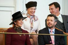 Princess Mary and Princess Benedikte, October 1, 2013  | The Royal Hats Blog