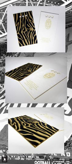Specialty cards made from cotton board with black velvet layer, creating a textural as well as a visual impression.