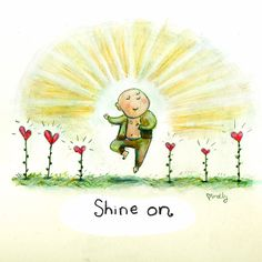 shine on {today's doodle}