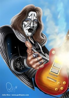 "Paul Daniel ""Ace"" Frehley from KISS"