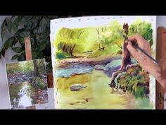 Preview Acrylic Unleashed: Painting a Colorful Landscape here now for acrylic painting tips for glazing paint, using an impasto technique with your paint and more! Then visit http://ArtistsNetwork.tv for access to the full-length video.