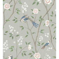 Animal Print Wallpaper, Bird Wallpaper, Kitchen Wallpaper, Retro Wallpaper, Wallpaper Samples, Bedroom Wallpaper, How To Hang Wallpaper, Blue Wallpapers, Pink