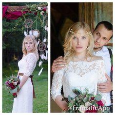 Трогательный и нежный образ нашей невесты в платье CARRIE #DOMINISS #dominiss2016