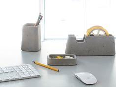Concrete desk set-by Magnus Pettersen
