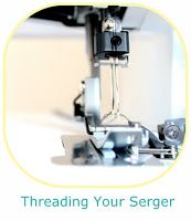 Strawbazies: The Chronicles of Ishaan and Amaani: Threading Your Serger or Overlocker