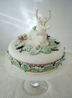 christmas cake - Google Search