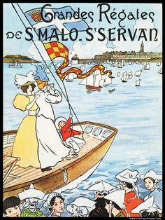 Grandes régates de Saint-Malo - Saint-Servan - Bretagne - France -