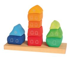 NEW ITEMS 2013 : Stacking Game Fairy Tale Village