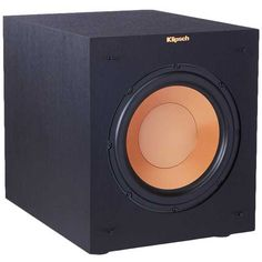 Home Theater Subwoofer, Klipsch Speakers, Powered Subwoofer, Audiophile, Black Fabric, Pure Products, Bass, Compact, Deep