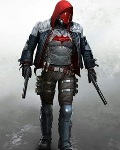 Red Hood From Arkham Knight