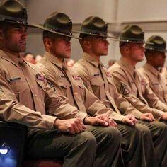 U.S. Marine drill instructors