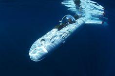 An Underwater Toy for Billionaires: The Deepflight Submarine Super Falcon Mark II $1,700,000