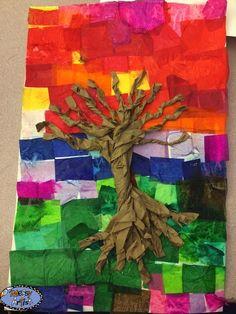 3rd-5th grade tree sculpturescopy