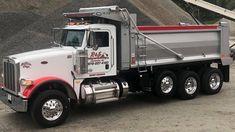 Semi Trucks, Big Trucks, Peterbilt Dump Trucks, Rigs, Construction, Future, Pictures, Building, Photos