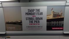 Visit England and LastMinute.com don't like Mondays! Brighton Hotels, Visit England, Morals, Marketing