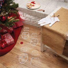 santa evidence kit - Mud Pie Christmas Decor