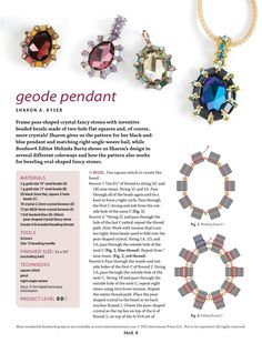 10 beading projects to make withtila beads by Valerie Gramage - issuu