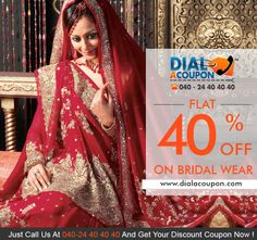 Uncover a range of Indian fashion outfits and bridal wear handpicked from all corners of the country, reflecting the vibrancy inherent in all things Indian! Call Dial A Coupon And Get Flat 40% Off.