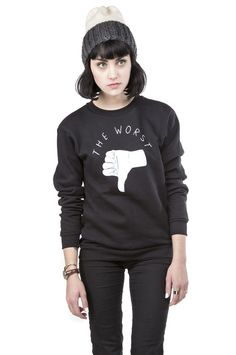 The Worst Crewneck Sweatshirt by Stay at Home Club