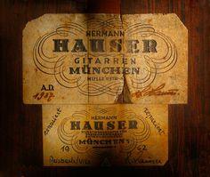 Old Hauser Guitar Magic
