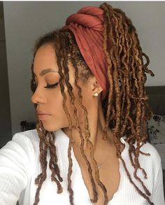 This Color Though In 2019 Faux Locs Hairstyles Curly Braids wraps This Color Though In 2019 Faux Locs Hairstyles Curly Faux Locs Styles, Dreadlock Styles, Dreads Styles, Curly Hair Styles, Natural Hair Styles, How To Style Dreadlocks, Dreadlocks Men, Marley Twist Hairstyles, Faux Locs Hairstyles