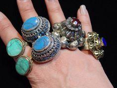 WL4148 - Großhandel Menge 5 Vintage-Stil Kuchi Ringe