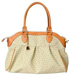 Generic Women's Wrinkle Casual Yellow Leather Handbag Small -- Find out more about the great product at the image link.