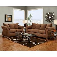 Wildon Home Carter Sofa And Loveseat Set