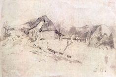 Desen - Andreescu, Ion; Peisaj de ţară - Muzeul Naţional de Artă ... Painters
