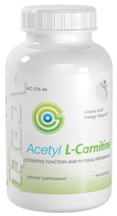 Acetyl L-Carnitine Cognitive And Physical Performance Acetyl L-Carnitine 500mg 90 Capsules 1 Bottle