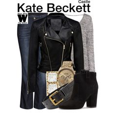 Inspired by Stana Katic as Kate Beckett on Castle.
