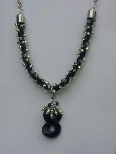 Kumihimo necklace by MaCheri Designs