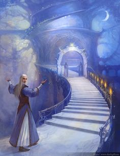 Lothlorien (via Lothlorien by ~CG-Warrior on deviantART)