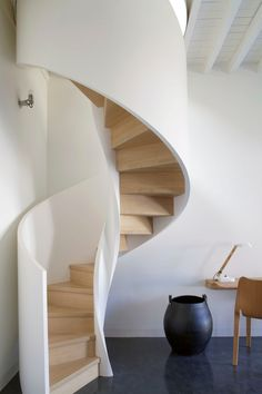 ideas spiral stairs architecture design for 2019 Tiny House Stairs, Stairs In Living Room, Spiral Stairs Design, Staircase Design, Staircase Ideas, Rustic Stairs, Modern Stairs, Stairs Architecture, Interior Architecture