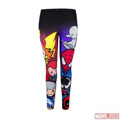 Marvel Chibi Leggings On WeLoveFine