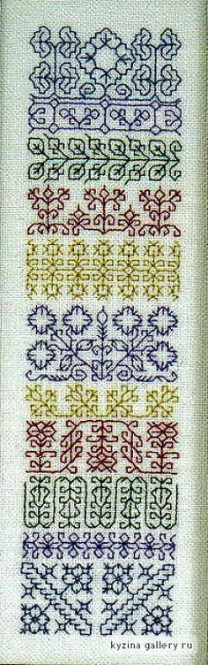Blackwork-schemes (page 50.) | Learning Crafts is facilisimo.com